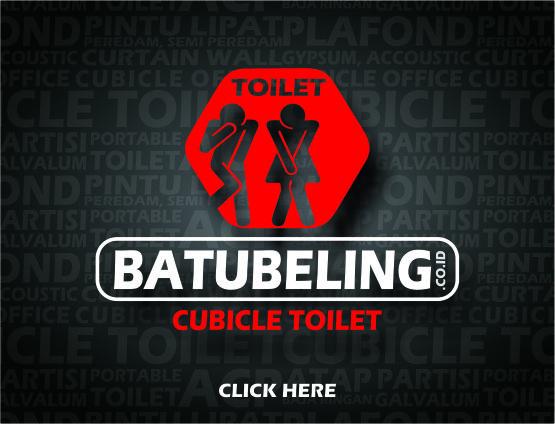 Batu Beling Cubicle Toilet